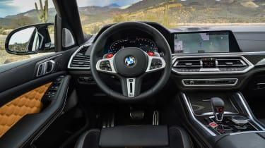 BMW X5 M SUV interior