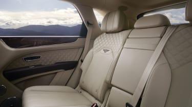 2020 Bentley Bentayga SUV - second row