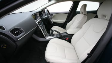 Comfortable, supportive seats are a welcome Volvo trait