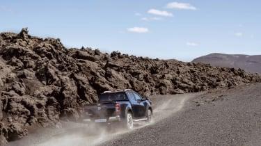 2019 Nissan Navara - rear view off-roading