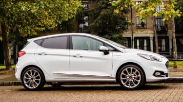 Ford Fiesta Vignale hatchback side