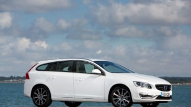 The V60 is low and sleek rather than big and boxy