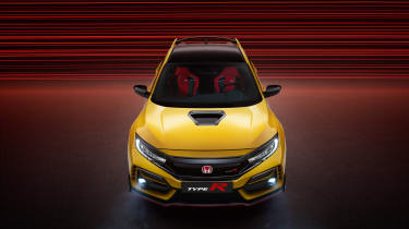 Honda Civic Type R Limited Edition front