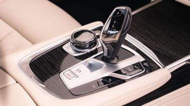 BMW 7 Series saloon - centre console and gearlever