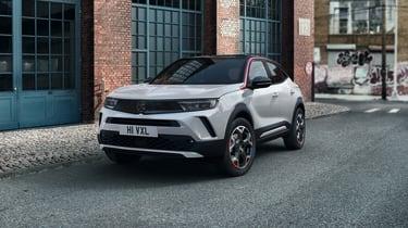 2021 Vauxhall Mokka SRi - front 3/4 static
