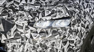 2021 Peugeot 308 prototype - front close up