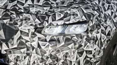 2021 Peugeot 308 prototype - front close up