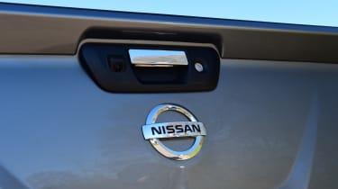 Nissan Navara - rear tailgate