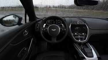 Aston Martin DBX prototype interior view