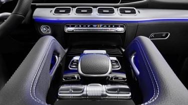 2019 Mercedes GLE centre console