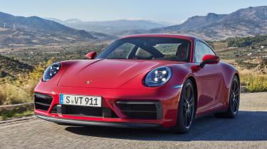 New Porsche 911 GTS static