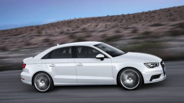 Audi A3 Saloon 2013 side tracking