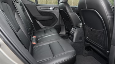 Volvo XC40 SUV rear seats