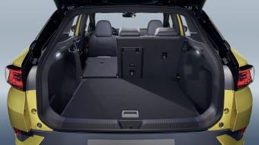 2021 Volkswagen ID.4 boot - left seat down