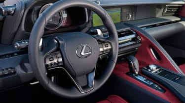 The interior is as lavish as you'd expect for the £80,000 asking price