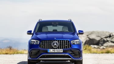 Mercedes-AMG GLE 63 S - front straight on view