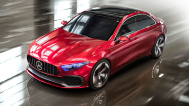 Future Mercedes models will gain a curvier look with fewer creases in the design