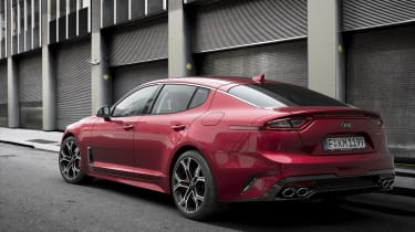 That potent V6 engine shoots the Stinger from 0-62mph in just 5.1 seconds
