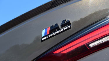 BMW M4 Coupe boot badge