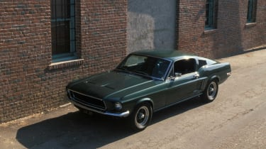 Roaring into second place was the iconic 'Highland Green' Ford Mustang Fastback from Bullitt.