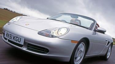 Porsche Boxster S front