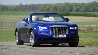 The Rolls-Royce Dawn is one of the most luxurious four-seat convertibles on sale in the world