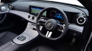 Mercedes E-Class hybrid steering wheel