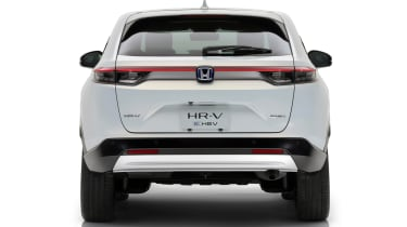 2021 Honda HR-V hybrid SUV - rear on