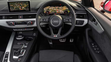 The interior is a top selling point, with excellent design and in-car technology such as the Virtual Cockpit instruments