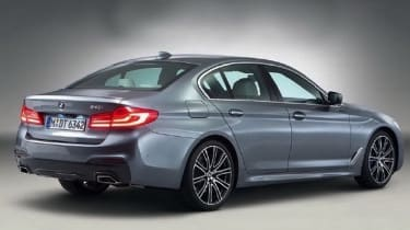 Large alloys certainly make the 5 Series look good, but smaller wheels may make it more comfortable