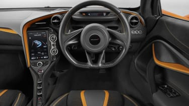 It's a high-tech touch which is typical of the new 720S