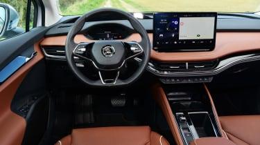 Skoda Enyaq iV SUV interior