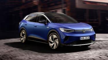 2021 Volkswagen ID.4 driving