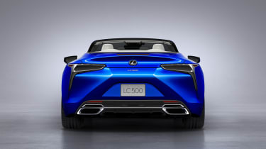Lexus LC500 Convertible rear end