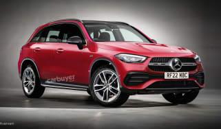Mercedes GLC render