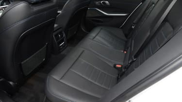 BMW 330e saloon rear seats