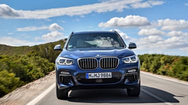 The latest X3 does command a premium of around £4,000 compared to the previous model, though.