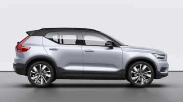Volvo XC40 Recharge side