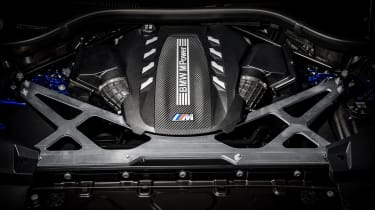 BMW X5 M Competition engine
