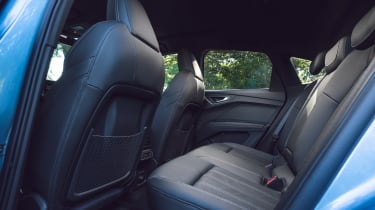 Audi Q4 Sportback e-tron rear seats