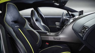Aston Martin Rapid AMR – interior view