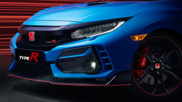 Honda Civic Type R GT front detail