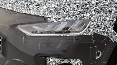 2021 Ford Focus prototype - headlight