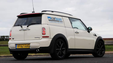 MINI Clubvan estate 2013 rear quarter static
