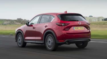 Mazda CX-5 - rear 3/4 view