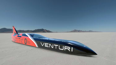 The Buckeye Bullet 3 recorded 342.144mph, setting a new world electric land speed record