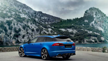 Jaguar XFR-S Sportbrake rear static