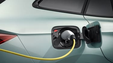 2021 Skoda Enyaq iV - charging port