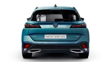 2021 Peugeot 308 SW estate - rear