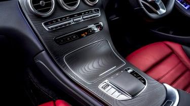 Mercedes GLC Coupe SUV centre console
